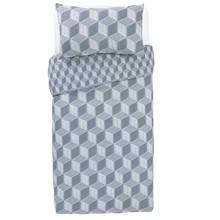 Argos Home Big Blocks Bedding Set