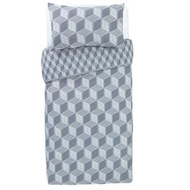 Argos Home Big Blocks Bedding Set - Single