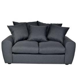 Argos Home Billow 2 Seater Fabric Sofa - Grey