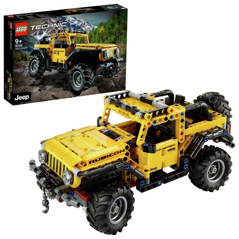 LEGO Technic Jeep Wrangler Rubicon Toy Car 42122 from Argos
