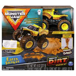 Monster Jam Kenetic Dirt Starter Set