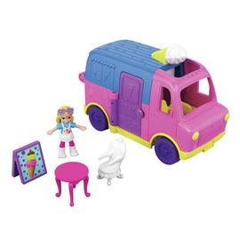 Polly Pocket Vehicle Ice Cream Truck