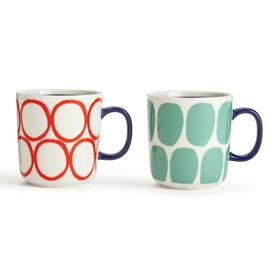 Habitat Mix it up Set of 2 Mugs