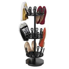 Argos Home Spiral Open Shoe rack - Black