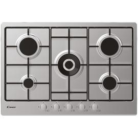 Candy CHW74WX 75cm Wok Gas Hob - Stainless Steel