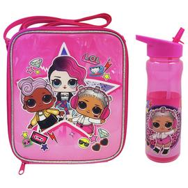 LOL Surprise Pink Rock Lunch Bag & Bottle Set