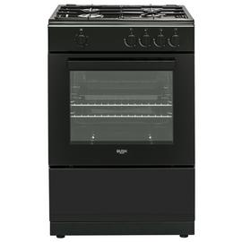 Bush BGC60SBX 60cm Single Gas Cooker - Black