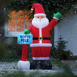 Argos Home Inflatable Santa