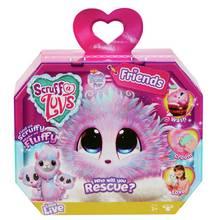Scruff a Luvs Surprise Rescue Pet Soft Toy – Candy Floss