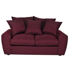 Argos Home Billow 2 Seater Fabric Sofa - Red