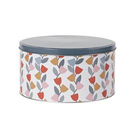 Argos Home Apartment Apparel Floral Cake Tin