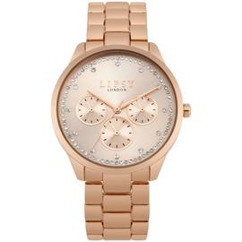 Lipsy Ladies Chronograph Rose Gold Coloured Bracelet Watch