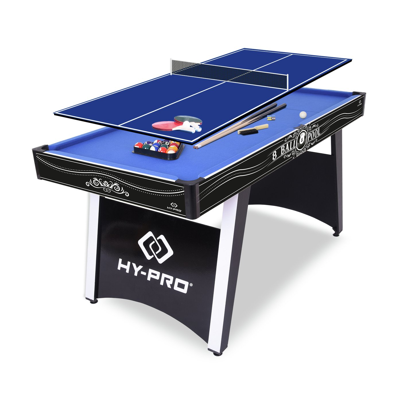 Buy Hy Pro 5ft Strike American Pool And Table Tennis Table Multi Games Tables Argos