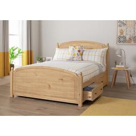 Argos Home Emberton Double Bed Frame - Pine