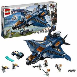 LEGO Marvel Avengers Ultimate Quinjet Plane Toy - 76126