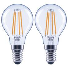 Argos Home 4W LED SES Globe Light Bulb - 2 Pack