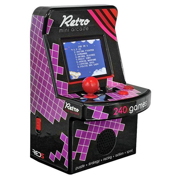 Buy RED5 Retro Mini Arcade Machine | Retro gaming consoles | Argos