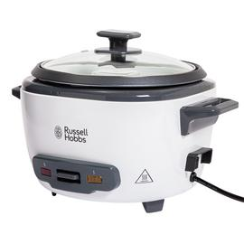 Russell Hobbs 3.3L Large Rice Cooker - White