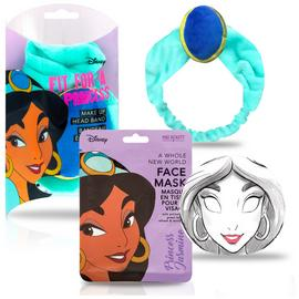 Disney Princess Jasmine Face Mask and Headband Gift Set
