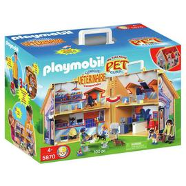 Playmobil 5870 Vet Clinic Playset