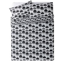 Argos Home Half Moon Bedding Set - Double