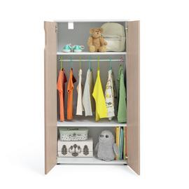 Argos Home Pod 2 Door Short Wardrobe