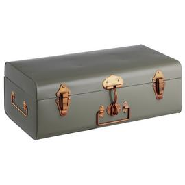 Habitat Small Trunk Copper Clasps - Grey