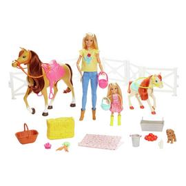 Barbie Hugs 'N' Horses Doll Playset