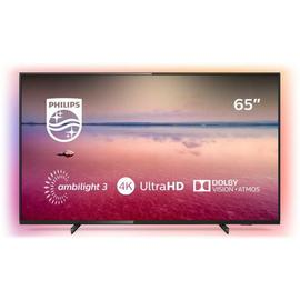 Philips 65 Inch 65PUS6704 Smart 4K HDR Ambilight LED TV