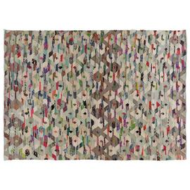 Habitat Trigas Recyled Cotton Rug- 170x240cm - Multicoloured