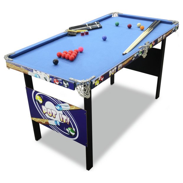 Buy chad valley 4ft snooker pool game table at for 10 in 1 game table toys r us