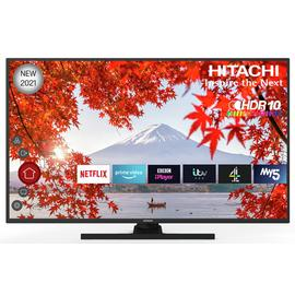 Hitachi 50 Inch 50HK6100UC Smart 4K UHD HDR LED Freeview TV