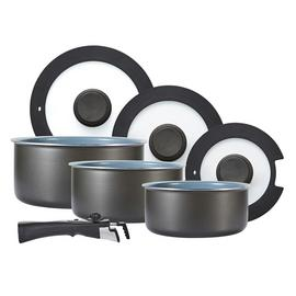 Tower Freedom 7 Piece Ceramic Non Stick Pan Set