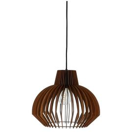 Habitat Achille Plywood Pendant Shade - Walnut