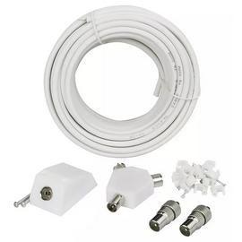 15m Aerial Extension Kit - White