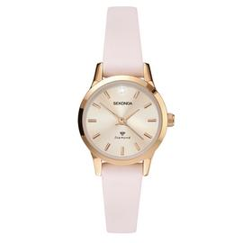 Sekonda Ladies Blush Pink Strap Watch