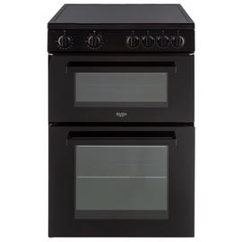 Bush B60TCBX 60cm Twin Cavity Electric Cooker - Black