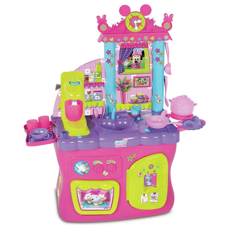 buy mickey mouse clubhouse minnie mouse's kitchen playset at argos
