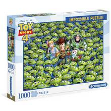 Disney Toy Story 4 Alien Impossible 1000 Piece Puzzle