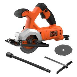 Black & Decker Corded Mini Circular Saw - 400W