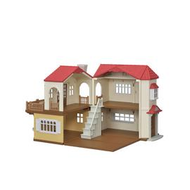 Sylvanian Families Red Roof Country Home Playset