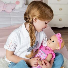 Luvabella Newborn Blonde Interactive Baby Doll