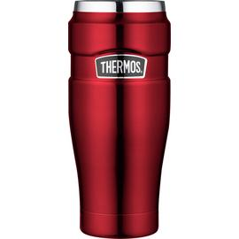 Thermos Stainless King Red Travel Tumbler - 470ml