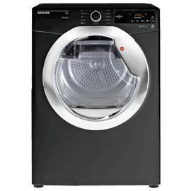 Hoover DXC 9TCEB 9KG Condenser Tumble Dryer - Black
