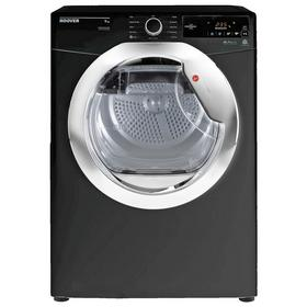Hoover DCX 9TCEB 9KG Condenser Tumble Dryer - Black