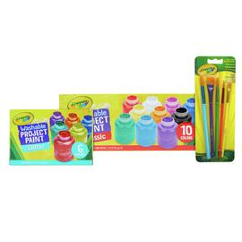 Crayola Washable Project Paint Set