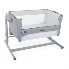 Chicco Next 2 Me Magic Bedside Sleeper Crib - Cool Grey