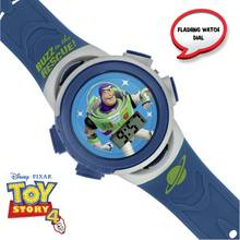 Disney Toy Story Buzz Lightyear Blue Plastic Strap Watch