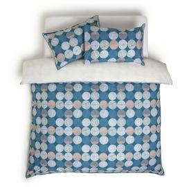 Habitat Textured Navy Spot Bedding Set