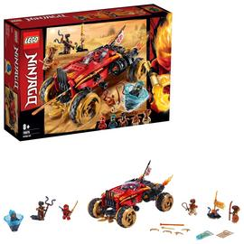 LEGO Ninjago Katana 4x4 Toy Car Building Set - 70675